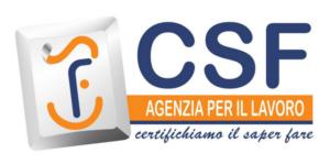 CSF: Agenzia per il Lavoro